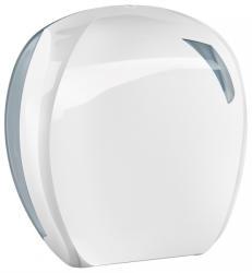 MAR PLAST Linea SKIN toalettpapír adagoló 24 cm fehér/átlátszó (A90701)