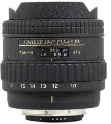 Tokina AT-X 107 AF DX Fish-Eye - AF 10-17mm f/3.5-4.5 (Canon)