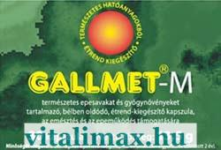 GALLMED Gallmet-M kapszula - 30 db