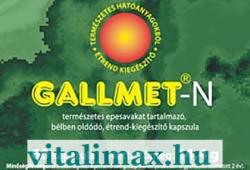 GALLMED Gallmet-N kapszula - 60 db