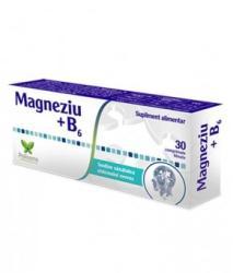 Polisano Magneziu + Vitamina B6, 30 comprimate, Polisano (FSH7548)