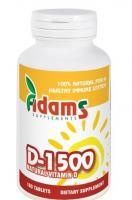Adams Supplements Vitamina d-1500 180cpr ADAMS SUPPLEMENTS