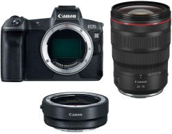 Canon EOS R + RF 24-70mm + Mount Adapter