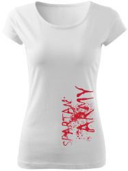 WARAGOD tricou de damă War, alb 150g/m2