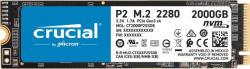 Crucial P2 2TB M. 2 PCIe (CT2000P2SSD8)