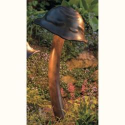 ROBERS Lampa iluminat exterior din fier forjat design ciuperca AL 6692, 92cm (AL 6692)