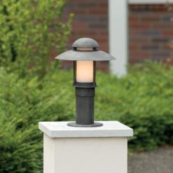 ROBERS Stalp iluminat exterior din fier forjat, inaltime 50cm, AL 6523 (AL 6523)