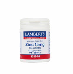 Lamberts Zinc 15mg (Citrate) 90 tablete - mypharmacyboutique