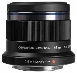 Olympus M.ZUIKO DIGITAL 45mm f/1.8 (ET-M4518) (V311030BE000/V311030SE000)