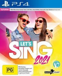 Ravenscourt Let's Sing 2021 [Microphone Bundle] (PS4)