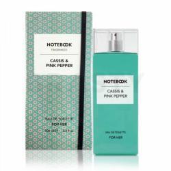 Notebook Fragrances Cassis & Pink Pepper EDT 100ml