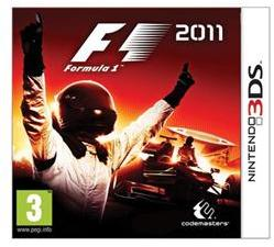 Codemasters F1 Formula 1 2011 (3DS)