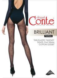 Conte Elegant Ciorapi cu buline metalizate Conte Brilliant 20 den
