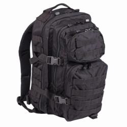 MIL-TEC US ASSAULT PACK SM fekete 20l. 14002002