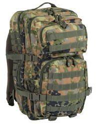 MIL-TEC US ASSAULT PACK LG flecktarn 36l. 14002221
