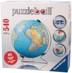 Ravensburger 3D Gömb Puzzle - Földgömb 540 db-os (12427)