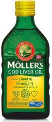 MOLLER'S Omega 3 ulei ficat de cod cu aroma de lamaie, 250 ml, Moller' s
