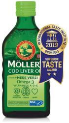 MOLLER'S Moller's cod liver oil Omega-3, aromă de mere verzi, 250 ml, Moller' s