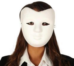 Fiestas Guirca Mască universală albă
