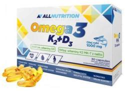 ALLNUTRITION Omega-3 K2+D3 30 Capsules