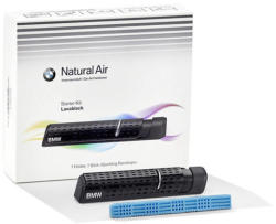 BMW Gyári BMW Lavablack Natural Air utastér illatosító - légfrissítő starter kit 83125A07EC3
