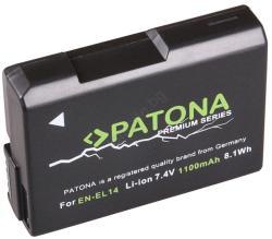 PATONA - Батерия Nikon EN-EL14 1100mAh Li-Ion Premium (IM0379)