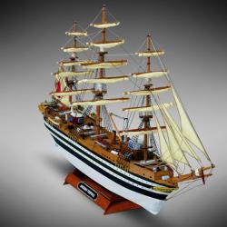 Amerigo Vespucci hajómakett építőkészlet - vitorlasvilag - 17 900 Ft