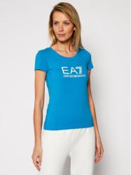 EA7 Emporio Armani Tricou 8NTT63 TJ12Z 1523 Albastru Slim Fit