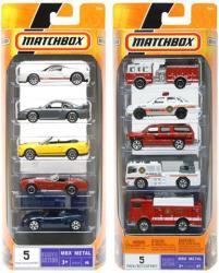 Mattel Matchbox Kisautók 5 Darabos