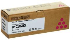 Ricoh SPC360X TONER MAGENTA (EREDETI) Termékkód: 408252 (408252)