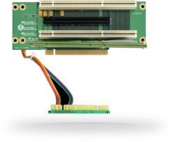 CHIEFTEC RC2-E16 2U Riser kártya PCIe, PCI-X bővítőhelyekkel (RC2-E16X2R-4)