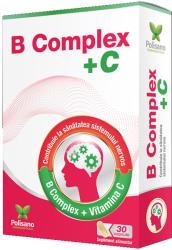 Polisano B Complex + Vitamina C, Polisano, 30 capsule