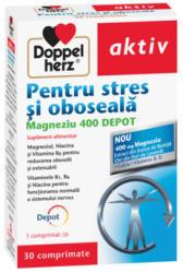 Doppelherz Activ pentru stres si oboseala, Magneziu 400 Depot, 30 comprimate