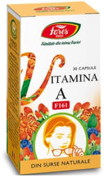 Fares Vitamina A naturala, Fares, 30 cps