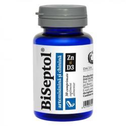 DACIA PLANT BiSeptol cu artemisinina si chinina Zn si D3, 30 comprimate, Dacia Plant
