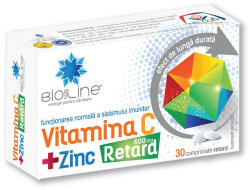 Helcor Vitamina C 600 mg cu Zinc Retard, Helcor, 30 comprimate
