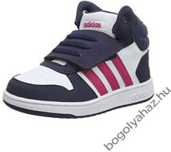 ADIDAS BEBI HOOPS MID 2.0 gyerek cipő Méret: 23 (B75948)