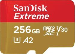 SanDisk microSDXC 256GB V30/A2 SDSQXA1-256G-GN6MA/183507