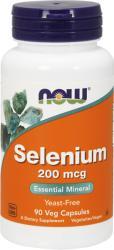 NOW Now Selenium 200 mcg 90 veg caps - proteinemag
