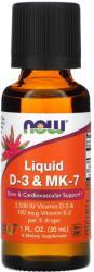 NOW Liquid D-3 & MK-7 30ml