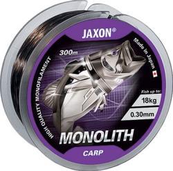 JAXON Monolith Carp Monofil Pontyozó Zsinór 0, 25mm 13kg 600m