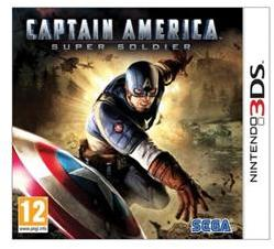SEGA Captain America Super Soldier (3DS)