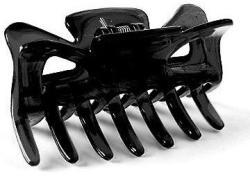 Donegal Clemă de păr FA-9916, 6, 7 cm, negru - Donegal