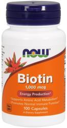 NOW Now Biotin 1000 mcg 100 caps