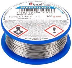 Cynel Rola fludor grosime 1.00 mm Sn60Pb40 100 Gr Cynel (LUT0107-100)