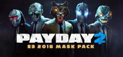 Starbreeze Publishing Payday 2 E3 2016 Mask Pack (PC)