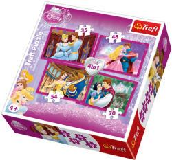 Trefl Disney hercegnők 4 az 1-ben (34110)