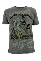Metallica And Justice Neon All Over L (tricou)
