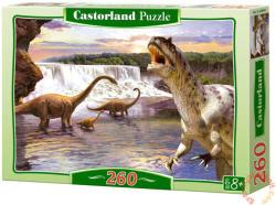 Castorland Diplodocus 260 db-os (B-26999)
