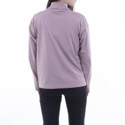Champion High Neck Longsleeve T-Shirt 113362 PS007 Ecru M